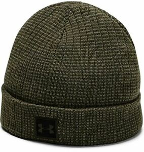 Under Armour Youth Boys' Truckstop Beanie 2.0 OSFM Green Winter Hat