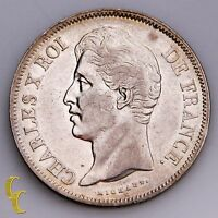 1830-B France 5 Francs (XF) Extra Fine Condition