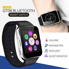 GT08 Bluetooth Smart Wrist Watch GSM Phone For Android Samsung iOS Apple iPhone
