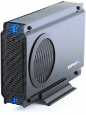 "Sabrent 3.5"" USB 2.0/eSATA HDD Enclosure SATA/IDE with Cooling Fan (EC-UEIS7-R)"