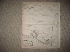 RARE ANTIQUE 1802 NORTH AFRICA PTOLEMY ARABIC MAP DARFUR TIMBUKTOO SUDAN MAP NR