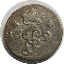 elf Germany Bishopric of Hildesheim 4 Pfennig 1691   Jobst Edmund