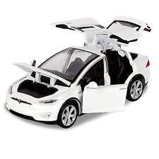 Tesla Model X 90D SUV Diecast Model Car 1:32 Toy Collection Luminous Sound