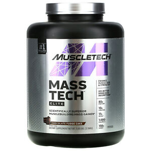 Mass-Tech Elite, Scientifically Superior Musclebuilding Mass Gainer, Chocolate