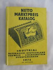 Netto Stamp Catalogue Central Europe, 1975, Very Good Condition