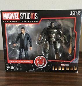 TONY STARK & IRON MAN MARK I 2-Pack #1 Marvel Legends First 10 Years -A1