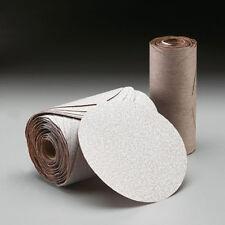 "Norton A275 Champagne 6"" PSA Disc Roll Grade P120B Sandpaper (100 discs) - 31479"