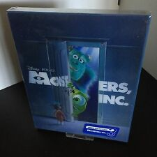 Monsters Inc Steelbook Lenticular 3D Blu-Ray KimchiDVD Korea Brand New Sealed