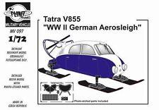 CMK Planet MV097 1/72 Resin WWII German Tatra V855 Aero-Sleigh