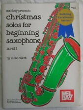 Christmas Solos For Beginning Saxophone Level 1