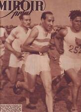 1947 miroir sprint n°42 CROSS PUJAZON CYCLISME MONTMARTRE ROBIC FOOTBALL