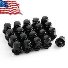 20 Black Mag Lug Nuts 12x1.5 for Toyota Camry 4Runner Tacoma Tundra FJ Cruiser
