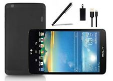 LG G Pad 8.3 - BLACK, 16 GB, WI-FI +4G VERIZON - STYLUS PEN+CHARGER