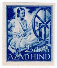 (I.B) India Cinderella : Azad Hind 2½a + 2½a (proof)