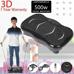 Vibration Plate Fit Body Crazy Shaker Massage Fitness Machine Oscillating Power