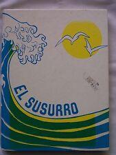 1984 MONTEREY HIGH SCHOOL, YEARBOOK, MONTEREY, CALIFORNIA  EL SUSURRO