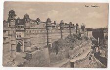 India unused postcard Fort, Gwailor The Phototype Company, Bombay old