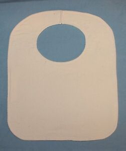 Cotton Flannel Bibs in many Solid Colors