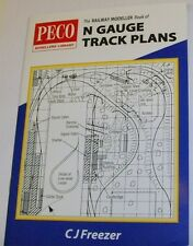 Peco - N Gauge Track Plans. 33 Pages (Book)