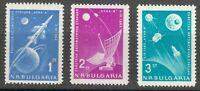 Bulgaria 1963 MNH Mi 1388-1390 Sc 1278-1280 Russia's rocket to the moon** Luna 4