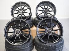 19 Zoll Motec Ultralight MCR2 Felgen 5x108 et45 für Ford Focus ST RS 500 schwarz