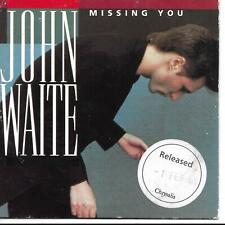 John Waite Missing You UK CD Single