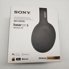 Sony Wh-H910N H.Ear On 3 Wireless Noise Canceling Bluetooth Headphones Black
