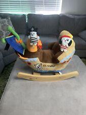 SS Rockabye Pirate Ship Rocking Horse - Ahoy Doggie Pirate Ship Rocker