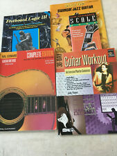 Guitar Book Lot Method Fretboard Logic III Scales Jazz