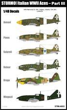STORMO! DECALS - ITALIAN WWII ACES - PART III - 1/48