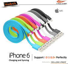 7-Pack Yellowknife Apple Certified 8-Pin Lightning to USB Cable Sync Data Cord