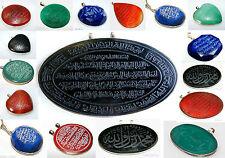 Markenlose Halsketten und Anhänger Echtschmuck mit Lapis Lazuli-Hauptstein