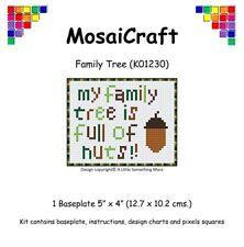 MosaiCraft Pixel Craft Mosaic Art Kit 'Family Tree' Pixelhobby