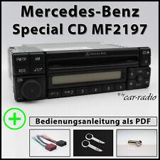 Original Mercedes Special CD MF2197 Alpine Becker Radio 1-DIN CD-R Autoradio Set