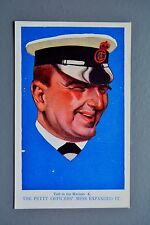 R&L Postcard: Lawrence & Jellicoe Told to the Marines, Royal Navy Series 4