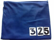 Tessuto stretch a costine blu navy Remnant (4-way) elastico attivo/Dance Wear 325