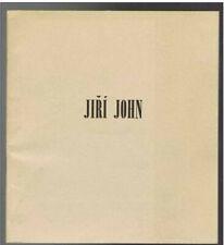 Jiri John - Catalogue exposition 1970 - 30 pages - 18  x 16,5 cm