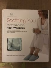 Aroma Home Soothing Microwaveable Feet Warmers
