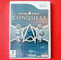 STAR TREK - CONQUEST - ( NINTENDO Wii ) - 2008 - REGION PAL - INCLUDES MANUAL