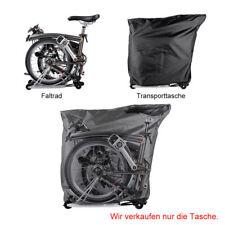 RockBros Faltrad Fahrrad Transporttasche für Brompton Faltrad Schwarz Neu