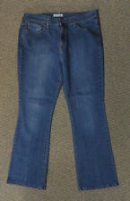 "PreOwned LEVI'S 515 BOOT CUT Womens Sz 14 Stretch JEANS Waist: 36""  Mid. Rise"