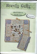 "BRANDY GULLY Pattern "" Block Folder & Needle Case"