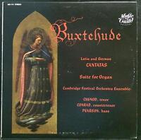 CUENOD / CONRAD / PEARSON buxtehude latin & german cantatas LP Mint- MS 114 USA