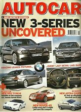 Autocar 17th August 2004, BMW 3-series, X5, XJ8, C55, NSX-R, Seat Altea