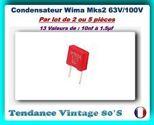 Condensateur Wima MKP-Y2 valeur au choix PRE-ORDER 5-7 DAYS