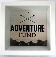 Splosh CB001 Adventure Fund 18x18 cm Money Box - White