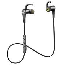New!! SoundPEATS Q12 Bluetooth Earphone Headset Earphone Black from Japan Import