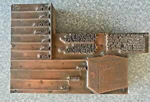 Antique Copper & Wood Printing Block Camera Shop Box Camera Anastigmat  SEE TEXT