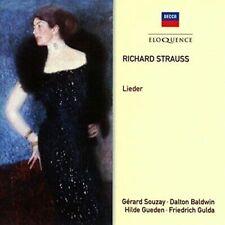 RICHARD STRAUSS Lieder 2CD BRAND NEW Decca Eloquence