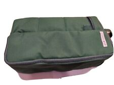 Cooler Portable Microcore wine and picnic kit green color, wine opener included